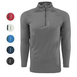 Reebok Men's Play Dry 1/4 Zip Jacket