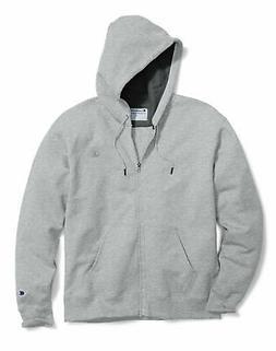 Champion Fleece Jacket Mens Powerblend Sweatshirt Full Zip H