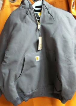 men s quilted flannel lined duck active