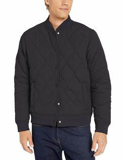 Goodthreads Men's Quilted Liner Jacket, Black, Large