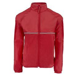 Reebok Men's Relay Jacket Red M