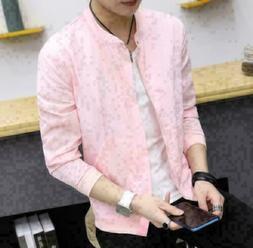 Men's Slim collar fashion jackets New Sunscreen Tops Casual