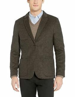 Goodthreads Men's Slim-fit Wool Blazer Tan Herringbone Small