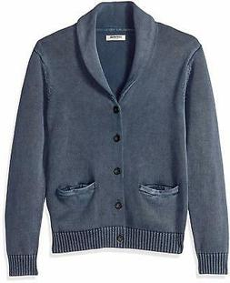 Goodthreads Men's Soft Cotton Shawl Cardigan Sweater,, Washe