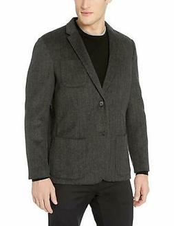 Goodthreads Men's Standard-Fit Wool Blazer, Charco - Choose