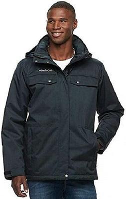 men s thermal coil interchange waterproof jacket