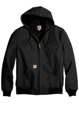 Men's Carhartt Thermal Lined Duck Active Jacket Coat Winter
