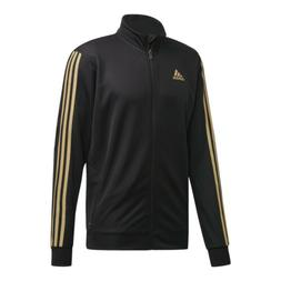 adidas Men's Tiro Track Jacket: Black/Gold - FQ2070
