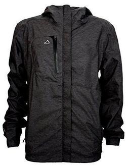 Paradox Men's Waterproof Breathable Rain Jacket w/ Underarm