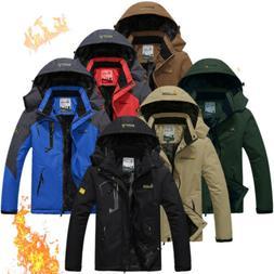 Men's Winter Ski Jacket Coat Snow Waterproof Windbreaker Fle