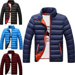 Men's Winter Warm Down Jackets Ski Puffer Zipper Jacket Snow