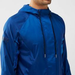 MEN UNDER ARMOUR SC30 CURRY LOOSE WINDBREAKER FULL ZIP HOODE