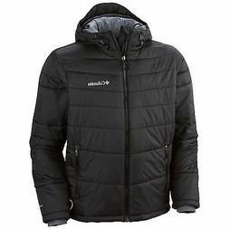 Columbia Men Winter Hooded Insulated Omni-Heat Jacket Coat s