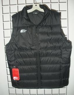 THE NORTH FACE MENS ACONCAGUA DOWN VEST- JACKET-A2TCD-  BLAC