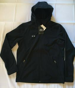 Oakley Mens Benched Softshell Hooded Jacket Black M-XXL