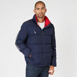 Nautica Mens Big & Tall Arctic Down Bomber Jacket
