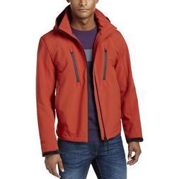 Michael Kors Mens Hooded Coat Soft Shell Jacket Outerwear Bi