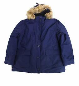 Goodthreads Mens Jacket Navy Blue Size 3XL Full-Zip Hooded P