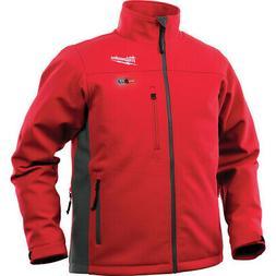 MILWAUKEE Mens M12 Cordless Heated Jacket TOUGHSHELL, Large