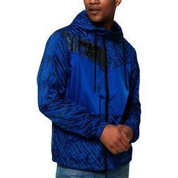 Super Dry Mens Ollie Blue Lightweight Windbreaker Jacket Out
