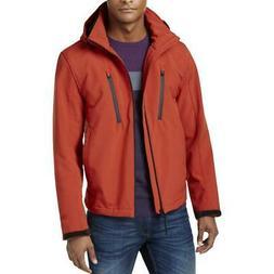 Michael Kors Mens Red Coat Soft Shell Jacket Outerwear Big &