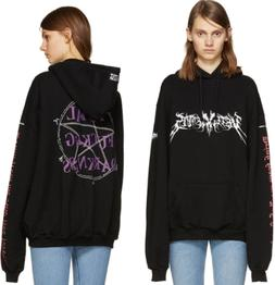 Mens Vetements Hoodie Embroidery Definition Style Pullover S