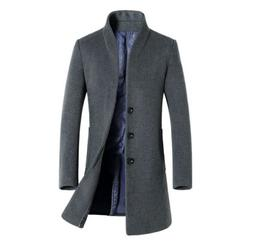 Mens Winter Coats And Jackets Outerwear Clearance Slim Cotto