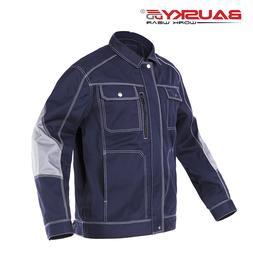 Bauskydd Mens workwear multi pocket dark blue <font><b>work<