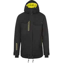 O'Neill Mens Meteorite Snow Jacket X-Large Black Out