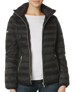 michael womens packable quilted puffer down jacket