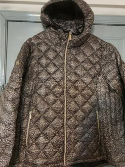 MICHAEL Michael Kors Womens Packable Quilted Puffer Quilted