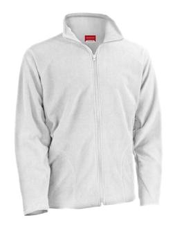 Result Core Men's Micron Fleece Jacket White M