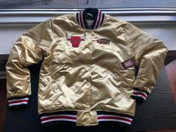 Mitchell & Ness Chicago Bulls GOLD 1998 Finals Jacket XL Ext