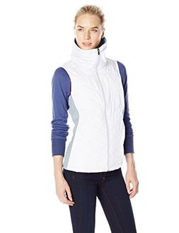 Columbia Women's Mix It Around Vest, White, Earl Grey, Mediu