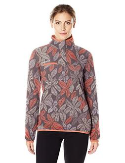 Columbia Women's Mountain Side Printed Pullover, Pulse Flora