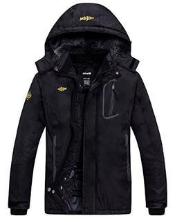 Wantdo Women's Waterproof Mountain Jacket Fleece Windproof S