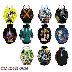 My Hero Academia Boku no Hero Cosplay Costume Jacket Sweatsh