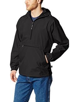 Charles River Apparel Men's Pack-N-Go Windbreaker Pullover,