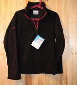 New Columbia 1/2 zip Glacial fleece jacket for girls size S