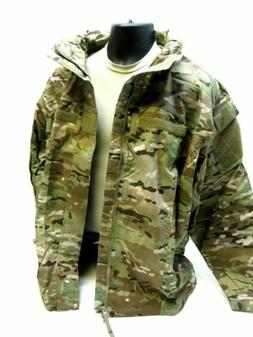 NEW ARMY OCP MULTICAM RAIN JACKET FR SOFT SHELL COLD/ WET WE
