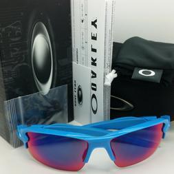 NEW Oakley Flak 2.0 sunglasses Sky Positive Red Iridium oo92