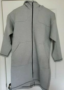 New Speedo Hyla Knit Parka Long Hooded Jacket Men's Size S S