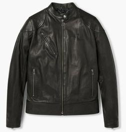 New Belstaff Maxford 2.0 Leather Jacket Black RRP £1195 *60