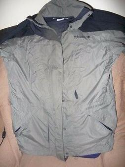 new men rain jacket sz m l