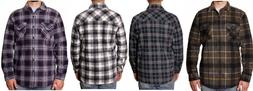 NEW!! Freedom Foundry Men's Button Up Sherpa Line Jackets Va