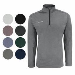 New Men's Columbia Tech Pine Ridge Half Zip Jacket Fleece To