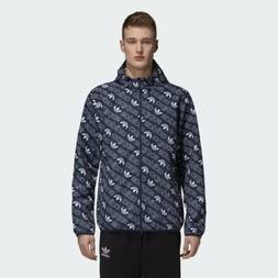 new mens monogram windbreaker track jacket hoody