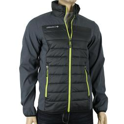 """New Mens Columbia """"Track Lines"""" Omni-Shield Water-Resistant"""