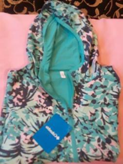 Columbia NEW Reversible Girl's Size Small Waterproof Jacket