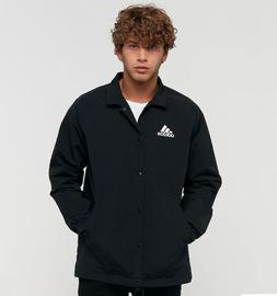 New adidas Tango Coach Jacket Black Men's Large Soccer Footb